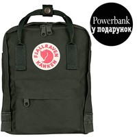 Фото Рюкзак Fjallraven Kanken Mini Deep Forest