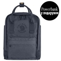 Фото Рюкзак Fjallraven Re-Kanken Mini 7 л серый