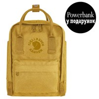 Фото Рюкзак Fjallraven Re-Kanken Mini 7 л желтый