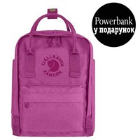 Фото Рюкзак Fjallraven Re-Kanken Mini 7 л розовый