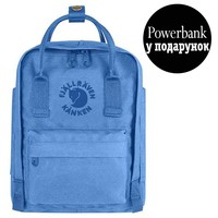 Фото Рюкзак Fjallraven Re-Kanken Mini 7 л голубой