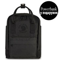 Фото Рюкзак Fjallraven Re-Kanken Mini 7 л черный